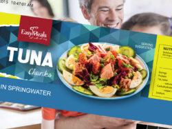 Easy Meals Label Artwork Creation