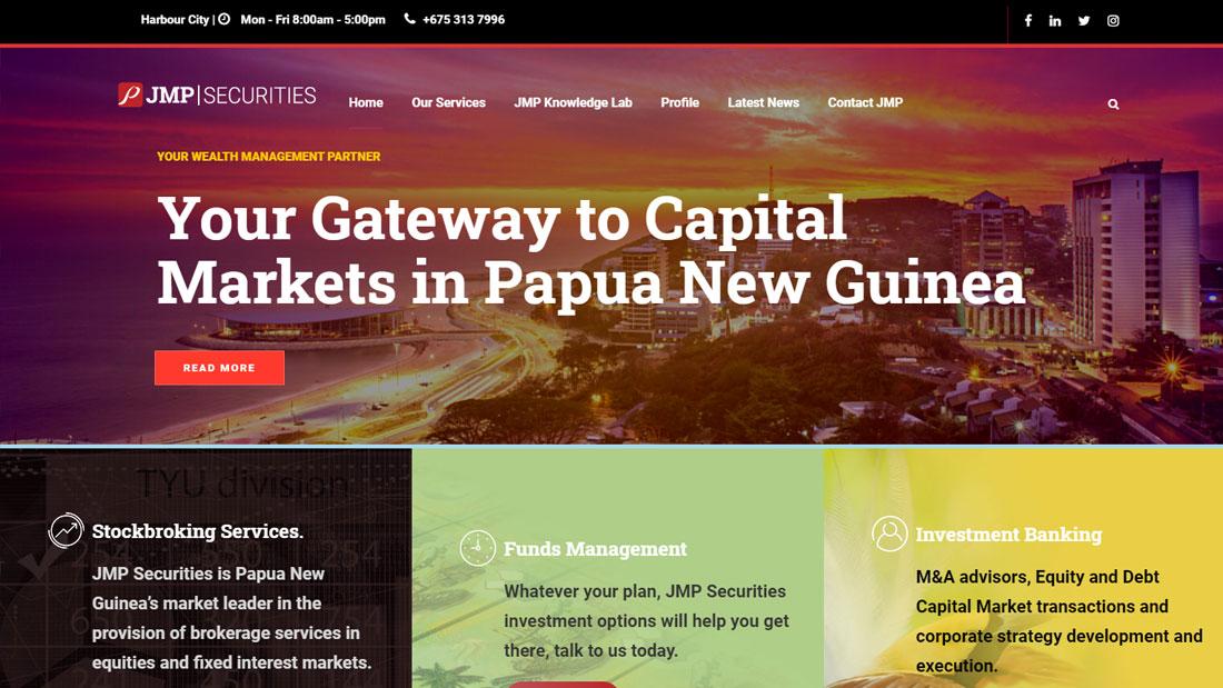 JMP Website - Wordpress Web Design Brisbane