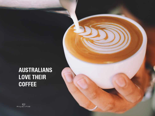 Australian's Love Coffee with MyCIno