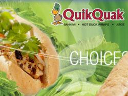 QuikQuak Hot Duck Wraps